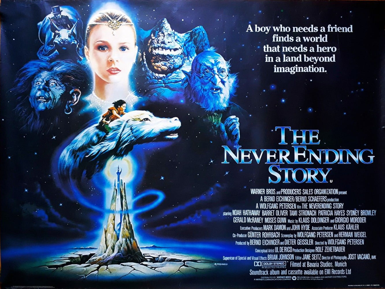 The Neverending Story – Movie Posters Gallery